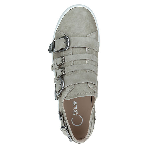 Carolina OREGON beige Low Sneakers Donna pnqw4vdp