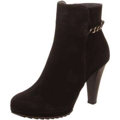 Paul Green Damen Stiefeletten/ Boots Größe 40.5 Schwarz (Schwarz)