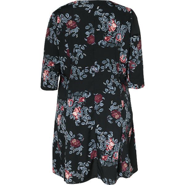 JUNAROSE Blusenkleid JUNAROSE JUNAROSE schwarz Blusenkleid Blusenkleid schwarz wCqwBSr