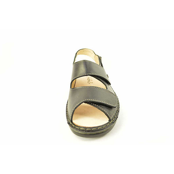 Finn Comfort Klassische Sandaletten schwarz