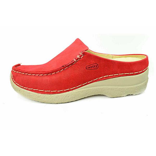 Wolky, Clogs, rot  Gute Qualität beliebte Schuhe