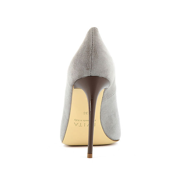 Evita Klassische Pumps hellgrau Shoes DESIDERIA grwgq