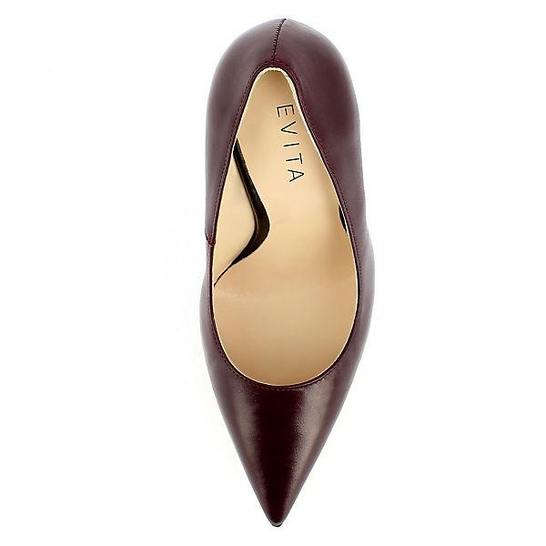 Evita Shoes Klassische Pumps DESIDERIA bordeaux
