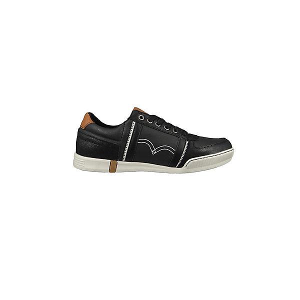Sneakers Levi's® Low Tioga Levi's® Schwarz Sneakers kXuOZPiT