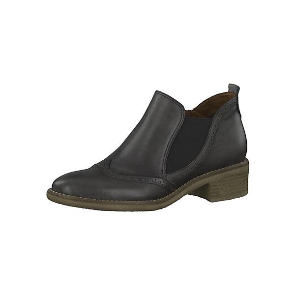 tamaris chelsea boots grau leder mirapodo. Black Bedroom Furniture Sets. Home Design Ideas