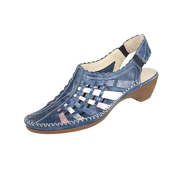 Naturläufer,  Sling-Pumps, blau  Naturläufer, Gute Qualität beliebte Schuhe 66aef4