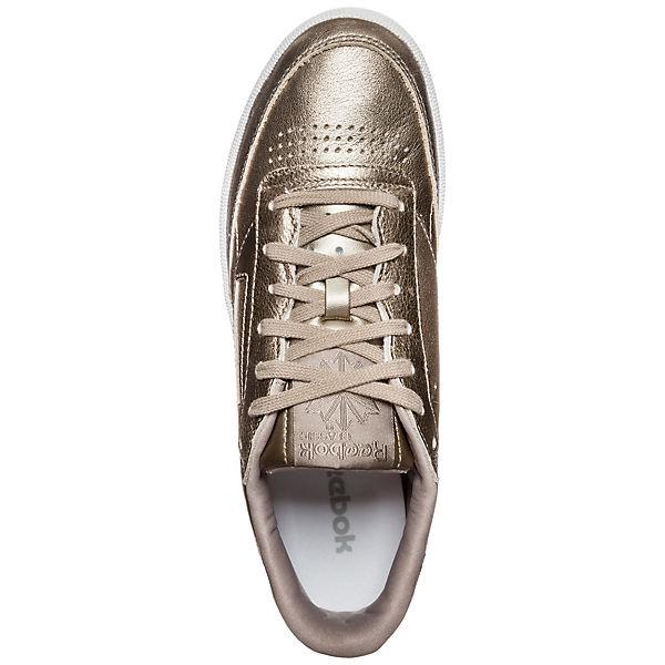 gold Reebok C Classic Melted 85 Sneakers CLUB Reebok Metals 8PUpr7qW8
