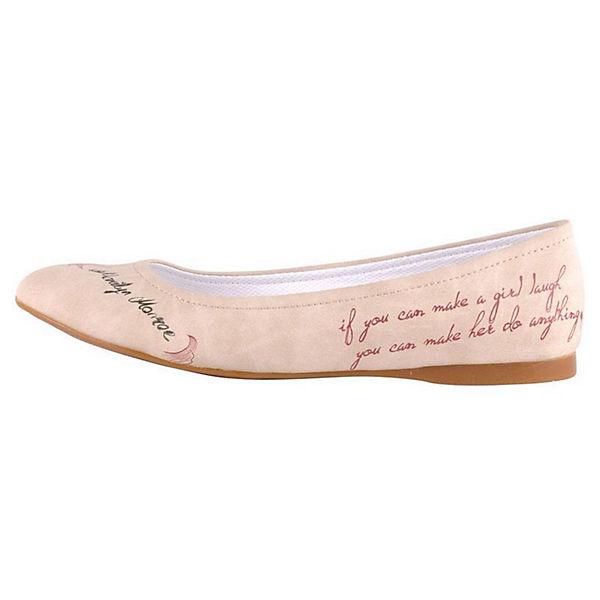 Dogo Shoes Klassische Ballerinas Marilyn Monroe mehrfarbig