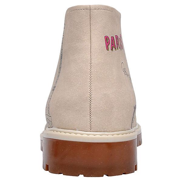 Dogo Shoes Schnürstiefeletten Boots beliebte Paris mehrfarbig  Gute Qualität beliebte Boots Schuhe 7255bc
