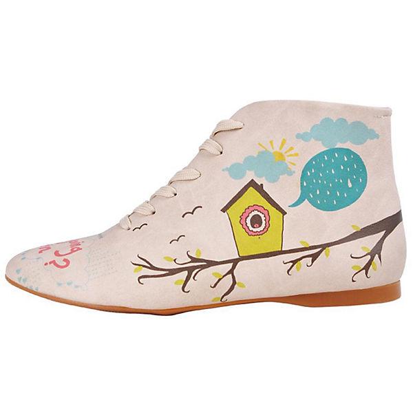 Rainy We Schnürstiefeletten Dogo mehrfarbig days love Shoes wPqpHqx47