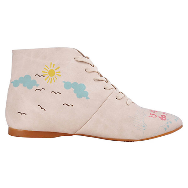 Dogo Shoes, Schnürstiefeletten We love  Rainy days, mehrfarbig   love ddd2e5