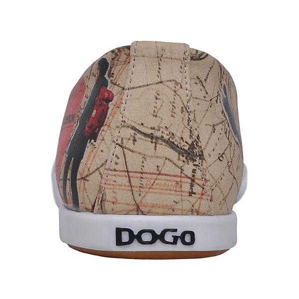 Dogo Lover, Shoes, Sportliche Ballerinas Travel Lover, Dogo mehrfarbig  Gute Qualität beliebte Schuhe 019e30