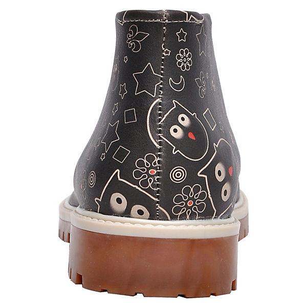 Dogo Shoes,  Schnürstiefel owl lover, mehrfarbig  Shoes, Gute Qualität beliebte Schuhe ad01a4