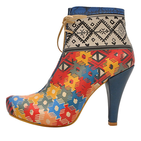 Ankle Boots ethnic style