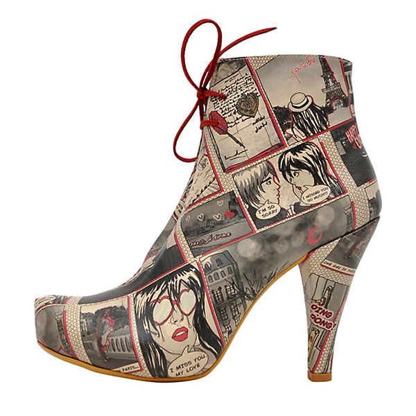love Shoes Dogo Boots mehrfarbig Ankle in paris qFcwcA4C