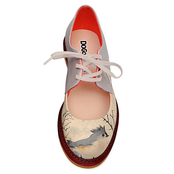 mehrfarbig bird Dogo Schnürschuhe Shoes I am a YqYOHUw7