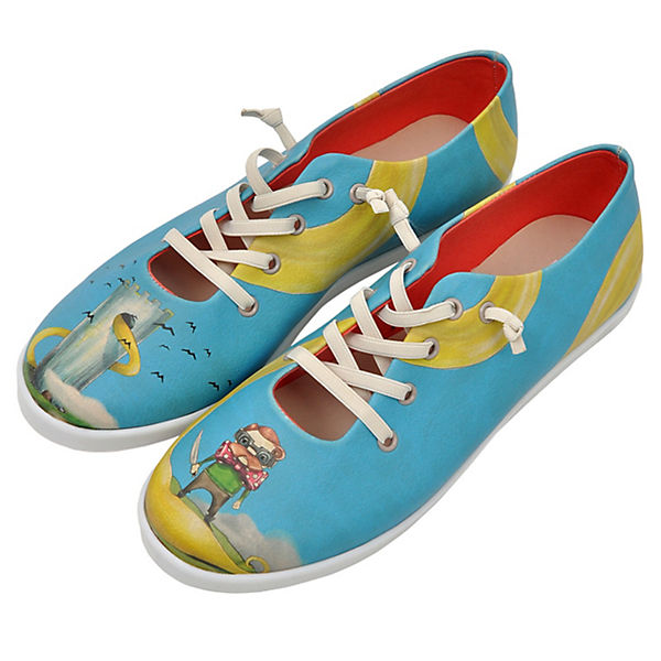 Dogo Shoes Sneakers Low blonde rapunzel mehrfarbig