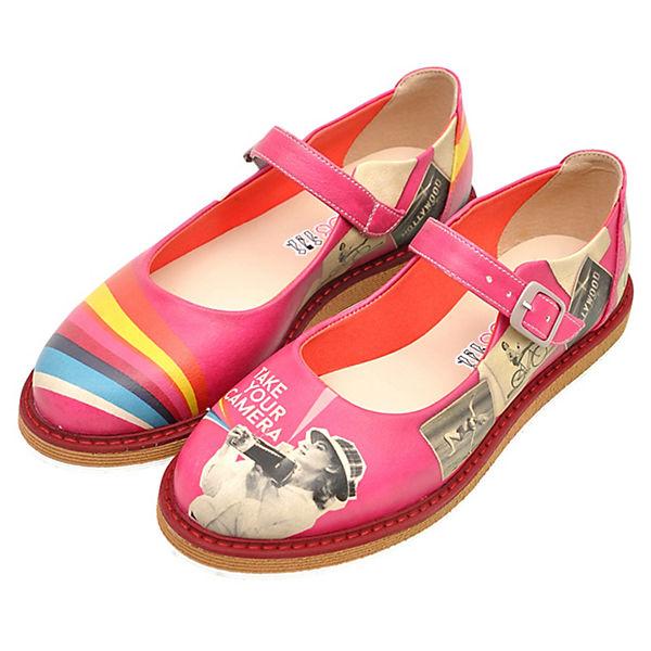 Dogo Shoes, Offene Halbschuhe Audrey Take Gute Your Camera, mehrfarbig  Gute Take Qualität beliebte Schuhe d71c76