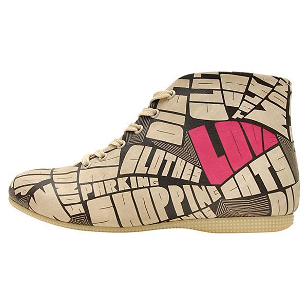 Dogo A Shoes mehrfarbig Schnürstiefel Woman's Mind rTfPrwq