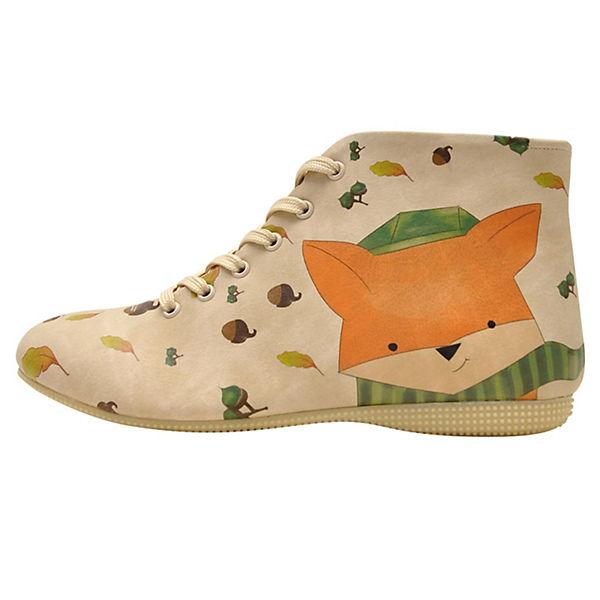 Shoes mehrfarbig Dogo fox my lovely Schnürstiefel 6wPdq1F