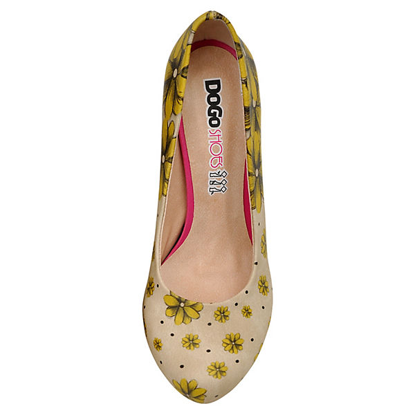 Dogo Shoes, Klassische mehrfarbig Pumps Call Me Daisy, mehrfarbig Klassische   73e551