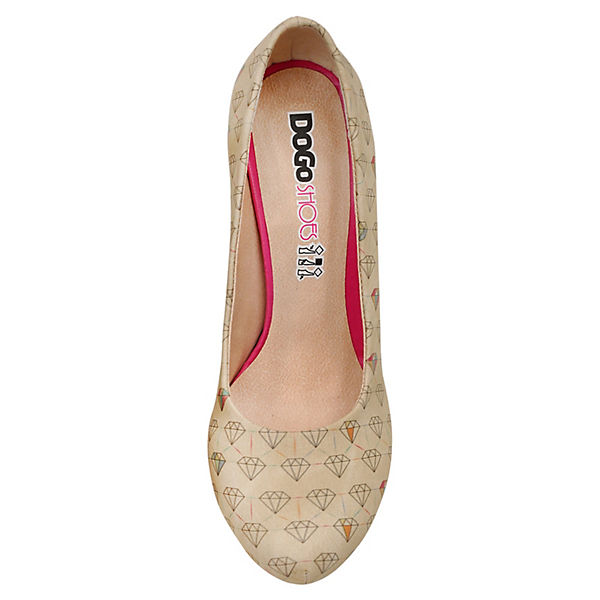 Dogo Shoes, Klassische Pumps Diamonds Qualität Forever, mehrfarbig  Gute Qualität Diamonds beliebte Schuhe 883a16