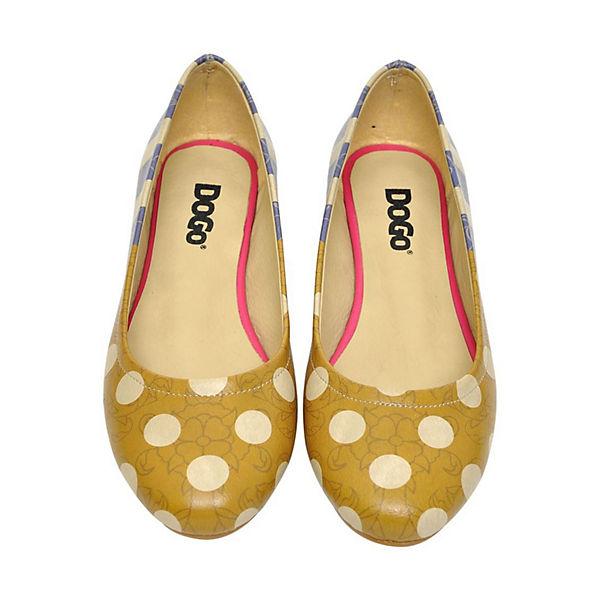 Dogo Shoes, Klassische Ballerinas Stripes and Qualität Dots, mehrfarbig  Gute Qualität and beliebte Schuhe 7f5c69