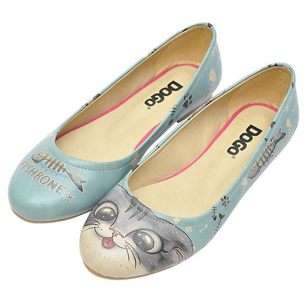 Dogo Shoes, Klassische Ballerinas Fishbone Lover, mehrfarbig