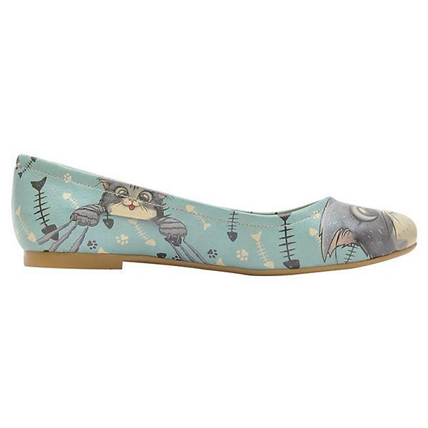 Dogo Schuhes, Klassische Ballerinas beliebte Fishbone Lover, mehrfarbig  Gute Qualität beliebte Ballerinas Schuhe 9c2944