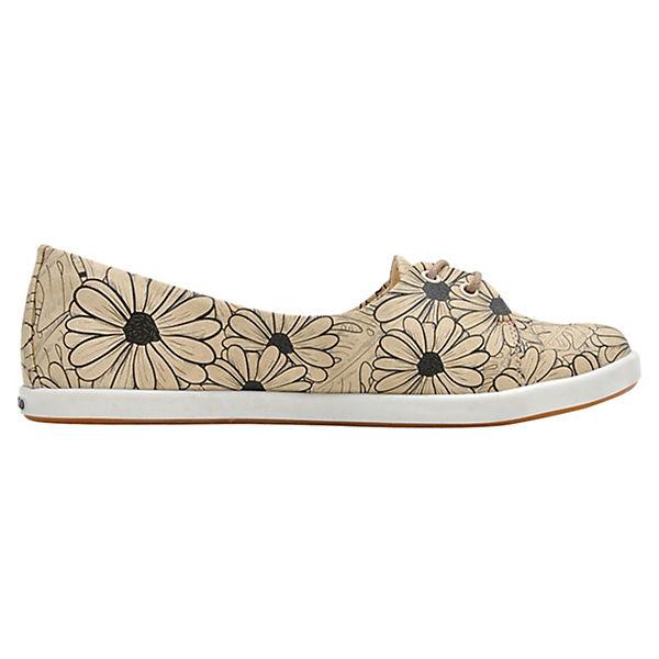 Dogo Shoes, Flowers, Sportliche Ballerinas Flowers, Shoes, mehrfarbig   4d848e