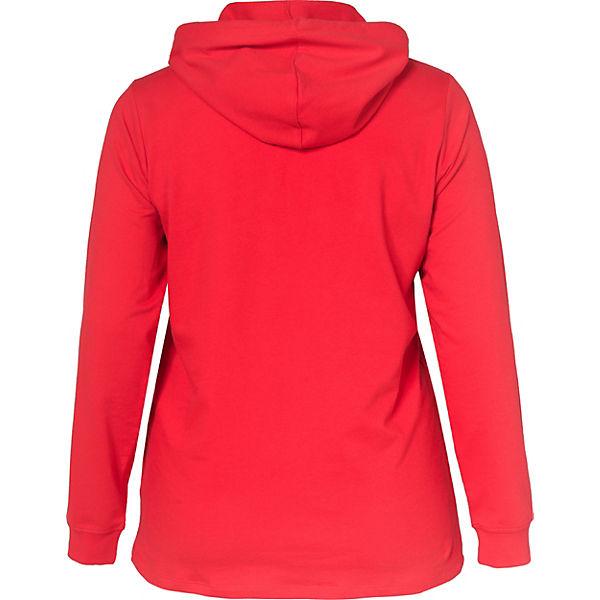 Sweatshirt Zizzi Sweatshirt Zizzi rot rot ttTqwB