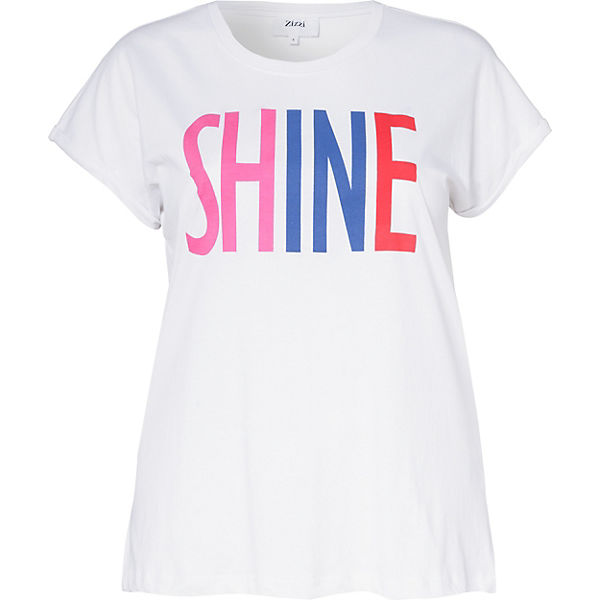 Shirt Shirt weiß weiß T Zizzi Zizzi Zizzi weiß T T Zizzi Shirt vIOwq5A