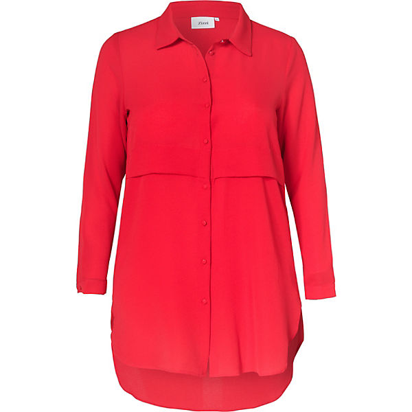Blusenkleid Zizzi rot Blusenkleid rot Blusenkleid Blusenkleid Zizzi rot Zizzi Zizzi rot rwqUAr