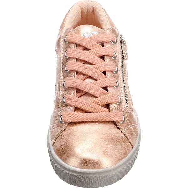 LICO Sneakers TREASURE LOW für Mädchen rosegold