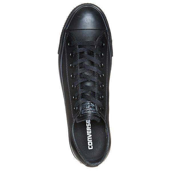 CONVERSE, Converse Sneakers Sneakers Sneakers Low Chuck Taylor All Star Core OX Leather, schwarz   0eb5f7