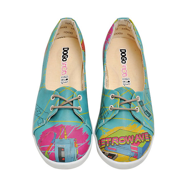 Sportliche Ballerinas Retrowave Shoes Dogo mehrfarbig qa5pxW