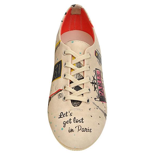 Dogo Shoes, Schnürschuhe let's get lost in paris, paris, paris, mehrfarbig  Gute Qualität beliebte Schuhe c54b96