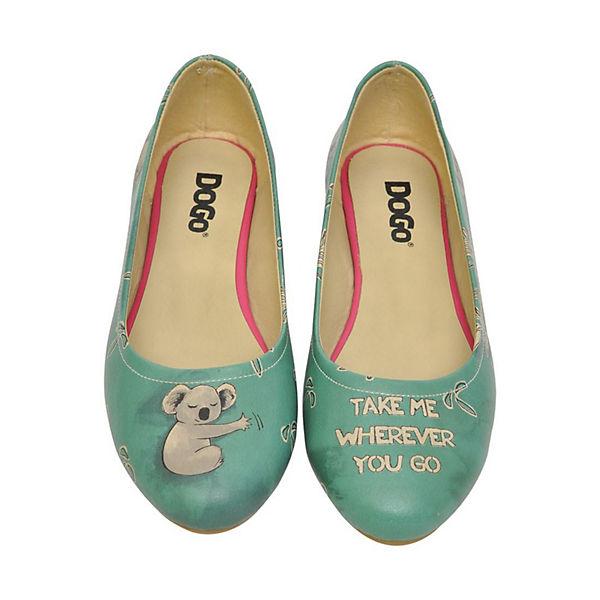 Dogo Koala Klassische Shoes hug Ballerinas mehrfarbig qxqf0