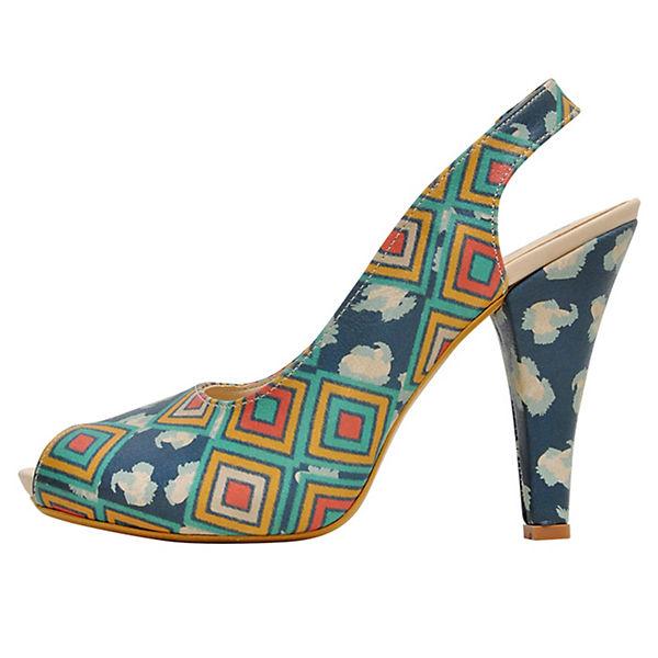 Dogo Shoes Klassische Pumps Leoneo mehrfarbig