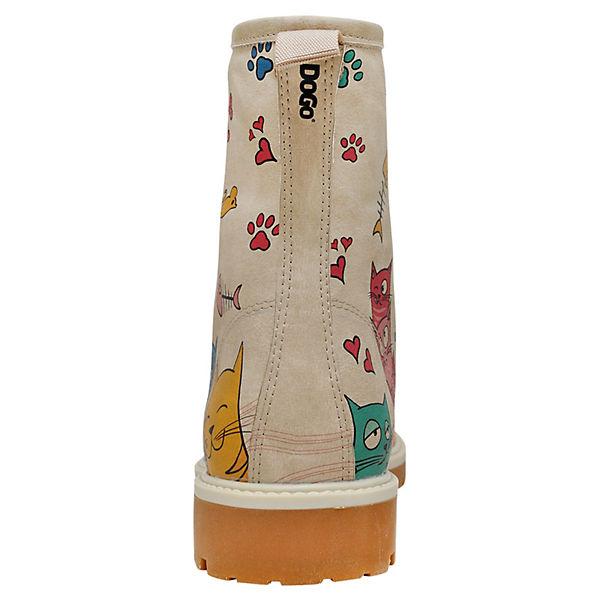 Klassische Cat mehrfarbig Lovers Stiefel Shoes Dogo SPxB5x