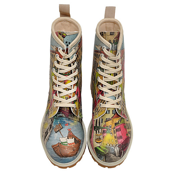 Klassische Stiefel mehrfarbig Tunnels Shoes Dogo fqwOAA