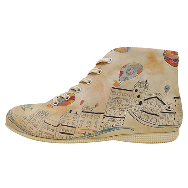 Houses Dogo mehrfarbig Sneakers High Shoes pwnxq4Z