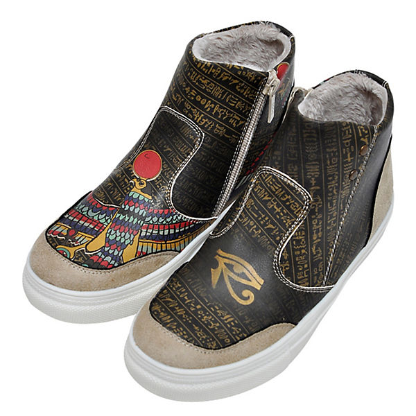 Egypt Dogo Shoes Wisdom mehrfarbig High in Sneakers wXq4wU