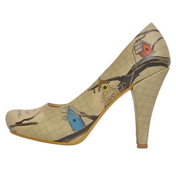 Dogo Shoes Klassische Pumps Like Home mehrfarbig