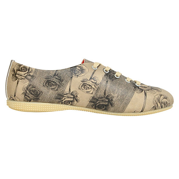 Dogo Shoes, Schnürschuhe  Lady of Cats, mehrfarbig  Schnürschuhe  871568