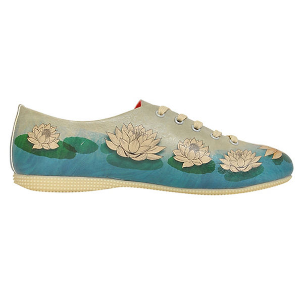 Dogo  Shoes, Schnürschuhe Lotus, mehrfarbig  Dogo  778c21