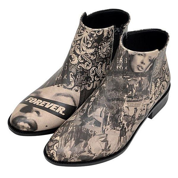 Dogo Dogo mehrfarbig Schlupfstiefeletten mehrfarbig Shoes Schlupfstiefeletten Shoes Forever Forever Shoes Schlupfstiefeletten Dogo YrqwY4P