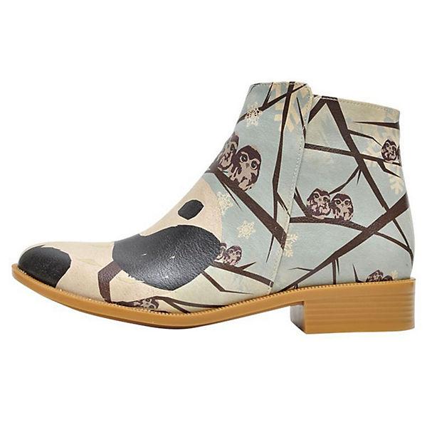 mehrfarbig like Dogo winter Schlupfstiefeletten Shoes I qaOFwnSXa