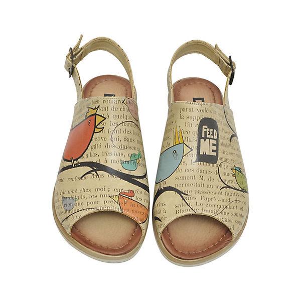 Dogo mehrfarbig Shoes, Komfort-Sandalen Ugly bird, mehrfarbig Dogo   a40302