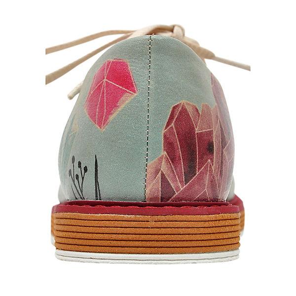 Dogo mehrfarbig Mineral Shoes Art Schnürschuhe r1wxrqPAg